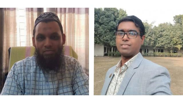 ড. সৈয়দ মো. গালিব ও সহযোগী অধ্যাপক ড. মো. আলম হোসেন।